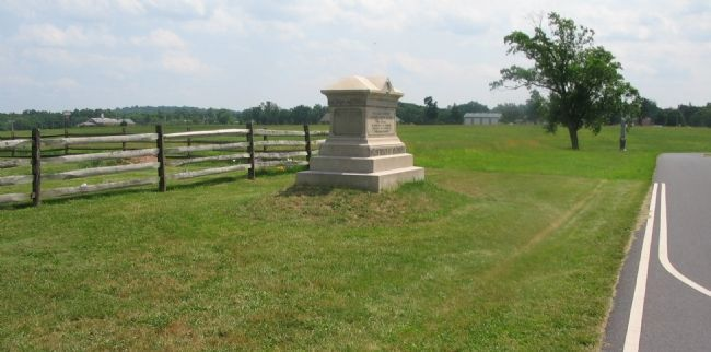 107th Ohio Infantry Monument Photo, Click for full size