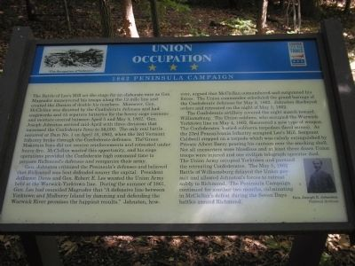 Union Occupation Marker image. Click for full size.