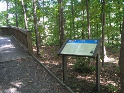 Marker in Lee�s Mill Historic Park image. Click for full size.