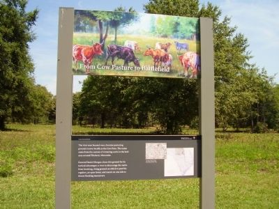 From Cow Pasture to Battlefield Marker image. Click for full size.