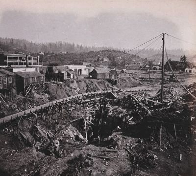 Soldier's Gulch - circa 1860-1870 image. Click for full size.