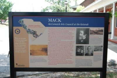 McCormick County / MACK Marker image. Click for full size.