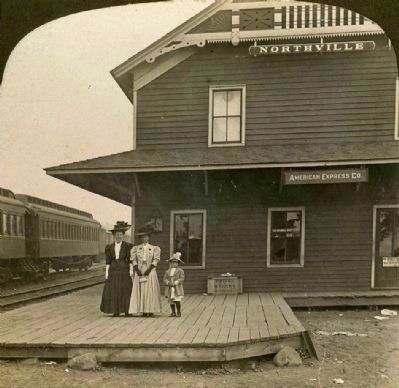 Northville Depot Photo, Click for full size