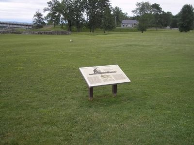 Marker at Crown Point State Historic Site image. Click for full size.