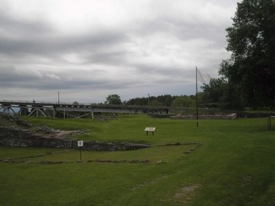Ruins of Fort St. Frédéric image. Click for full size.