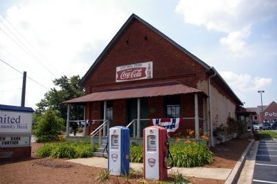 Old Country Store at Lost Mountain Cross-Roads image. Click for full size.