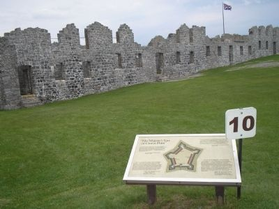 Marker in Crown Point State Historic Site image. Click for full size.