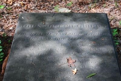 John Joseph Gibert Tombstone Photo, Click for full size