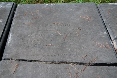 Harriet A. Noble Tombstone image. Click for full size.
