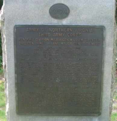 Pender's Division Tablet image. Click for full size.