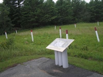 Bloody Knoll Marker and Fortification image. Click for full size.