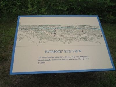 Patriots' Eye-View Marker image. Click for full size.