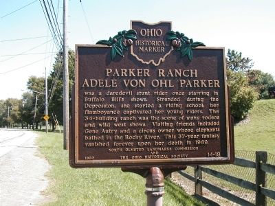 Parker Ranch - Adele Von Ohl Parker Marker Photo, Click for full size