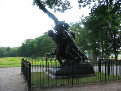 Statue for the North Carolina Monument image. Click for full size.