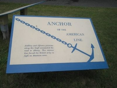 Anchor of the American Line Marker image. Click for full size.