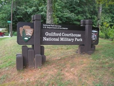 Guilford Courthouse National Military Park image. Click for full size.