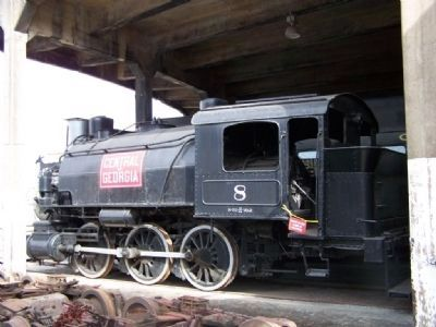 Central of Georgia 0-6-0 Tank switcher Photo, Click for full size