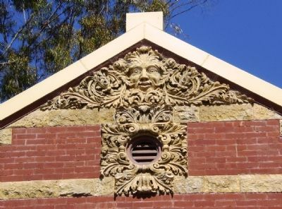 Carnegie City Library - Terra Cotta Architectural Detail Photo, Click for full size