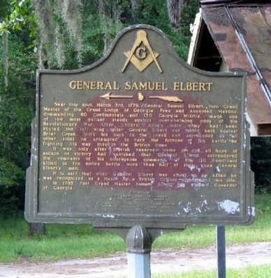 General Samuel Elbert Marker Photo, Click for full size