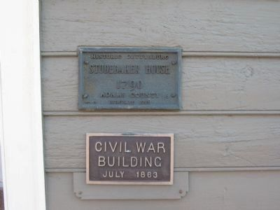 The Studebaker House Plaques image. Click for full size.