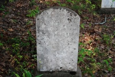 L. B. Guillebeau Tombstone image. Click for full size.