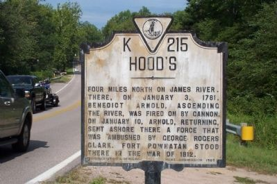 Hood's Marker image. Click for full size.