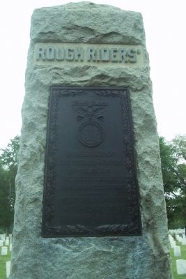 Rough Riders Marker image. Click for full size.