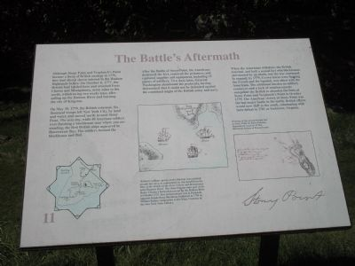 The Battle�s Aftermath Marker image. Click for full size.