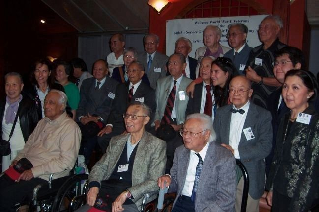Chinese American veterans of the 14th Air Force with friends and family at their 2008 Reunion in DC image. Click for full size.