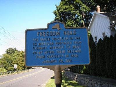 Freedom Road Marker image. Click for full size.