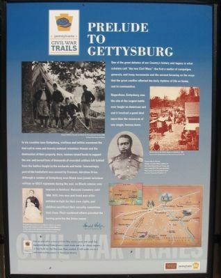 Prelude To Gettysburg Side Photo, Click for full size