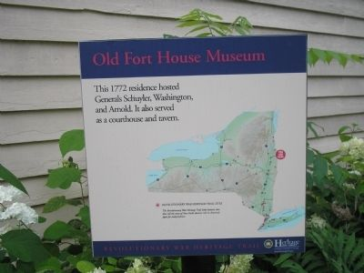 Old Fort House Museum Marker image. Click for full size.