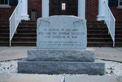 Pickens County Veterans Memorial Marker image. Click for full size.