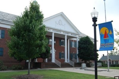 Pickens County Court House image. Click for full size.