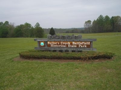 Sailor�s Creek Battlefield State Park image. Click for full size.