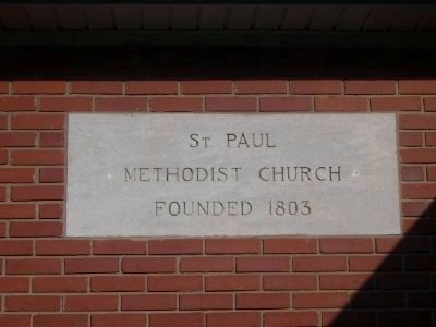 St. Paul United Methodist Church Cornerstone Photo, Click for full size