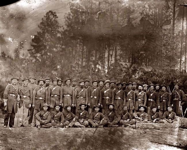 Co. D. 149th Pennsylvania Volunteers image. Click for full size.
