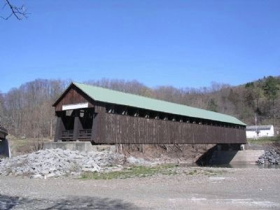 The Old Blenheim Covered Bridge image. Click for full size.