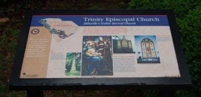 Trinity Episcopal Church Marker image. Click for full size.