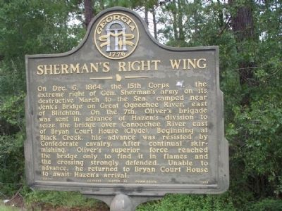 Sherman's Right Wing Marker image. Click for full size.