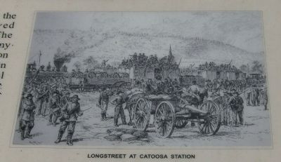 Longstreet Catoosa Station image. Click for full size.