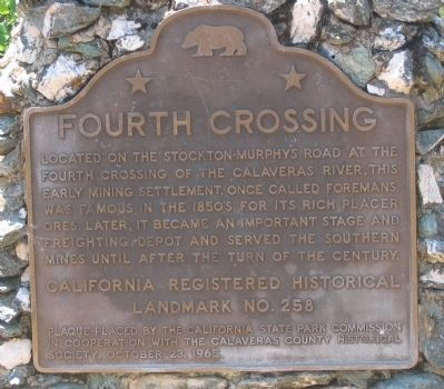 Fourth Crossing Marker image. Click for full size.