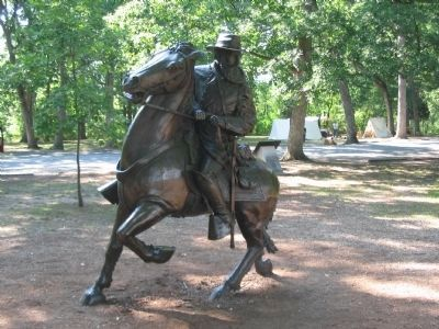 Longstreet Statue image. Click for full size.