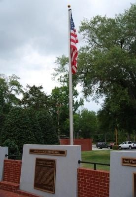 American Flag Pole Photo, Click for full size