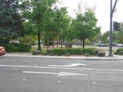 Cotati Downtown Plaza image. Click for full size.