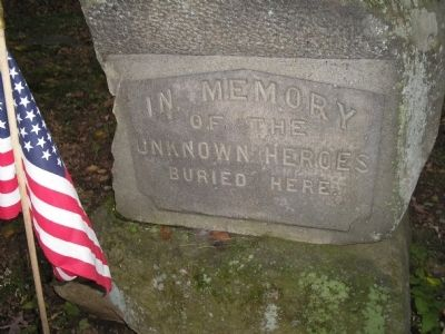 Unknown Heroes Marker image. Click for full size.