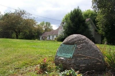 The Sheridan Homestead and Marker image. Click for full size.