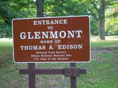 Glenmont, Home of Thomas A. Edison image. Click for full size.