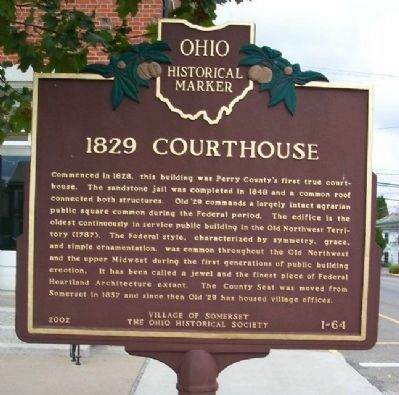 1829 Courthouse Marker image. Click for full size.