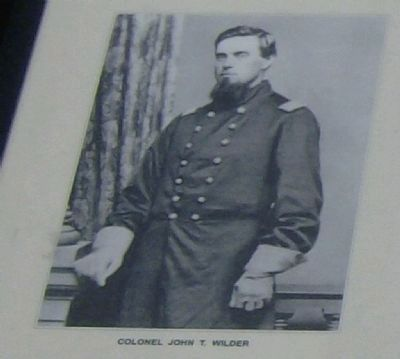 Colonel John T. Wilders image. Click for full size.